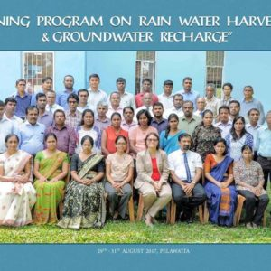 Professional Training Program on Rainwater Harvesting & Ground Water Recharge
