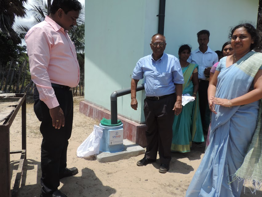 Opening Ceremony for Rainwater Harvesting System in Madduvilnadu G.T.M.S