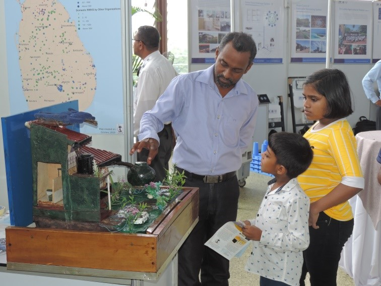 Lanka Rain Water Harvesting Forum took part in the 2019 IWA Water and Development Congress & Exhibition in Colombo