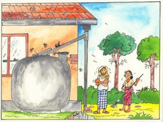 A poorly maintained rainwater tank is unhealthy people!