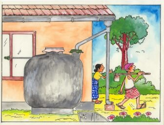 A well maintained rainwater tank is healthy people!