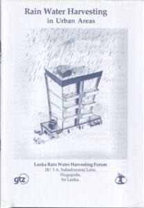 Rain Water Harvesting in Urban Areas