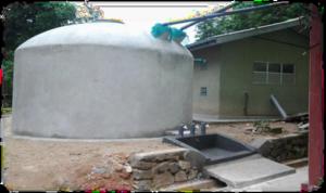 Completed RWHS B/ Kandagolla school