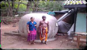 Completed RWHS Kiulegedara, Ulpatha HH (Badulla District)