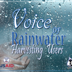 E- Book on Voice of Rainwater Harvesting Users