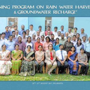 Professional Training Program on Rainwater Harvesting & Ground Water Recharge
